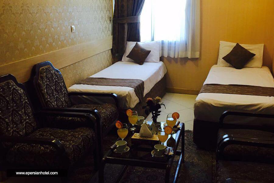هتل آپارتمان ترنم مشهد اتاق دو تخته