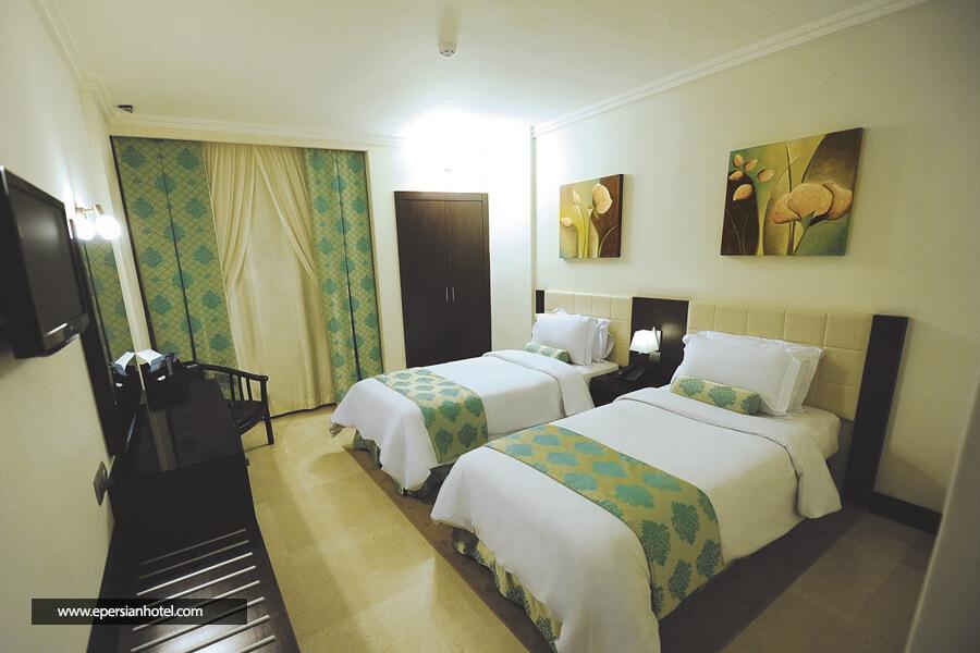 هتل تهران مشهد اتاق دو تخته