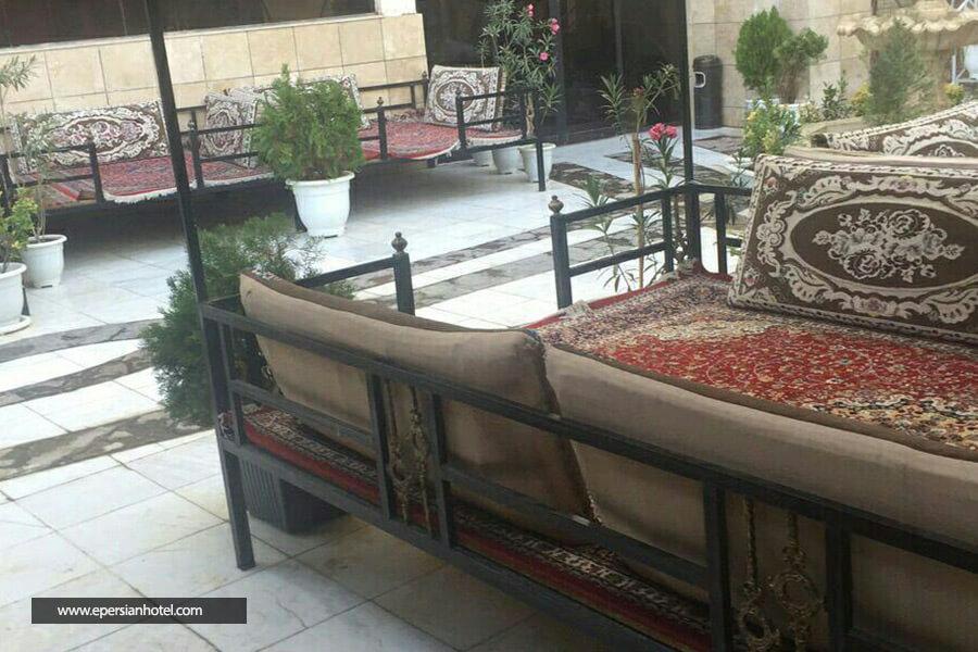 هتل طوبی مشهد کافه سنتی