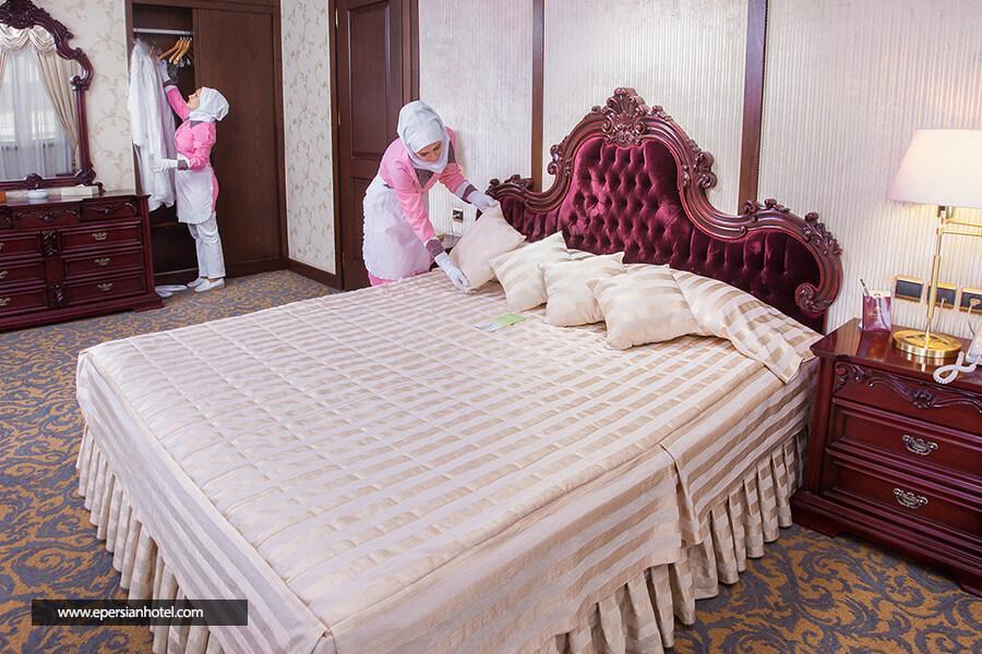 هتل توس مشهد اتاق دابل