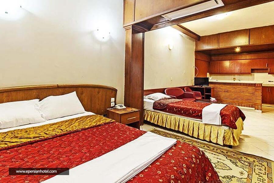هتل زیتون مشهد اتاق سه تخته
