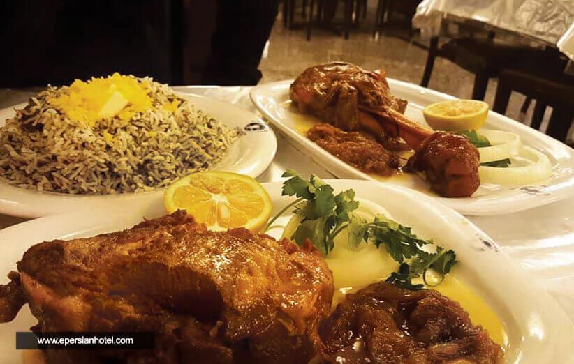 رستوران پسران کریم در مشهد