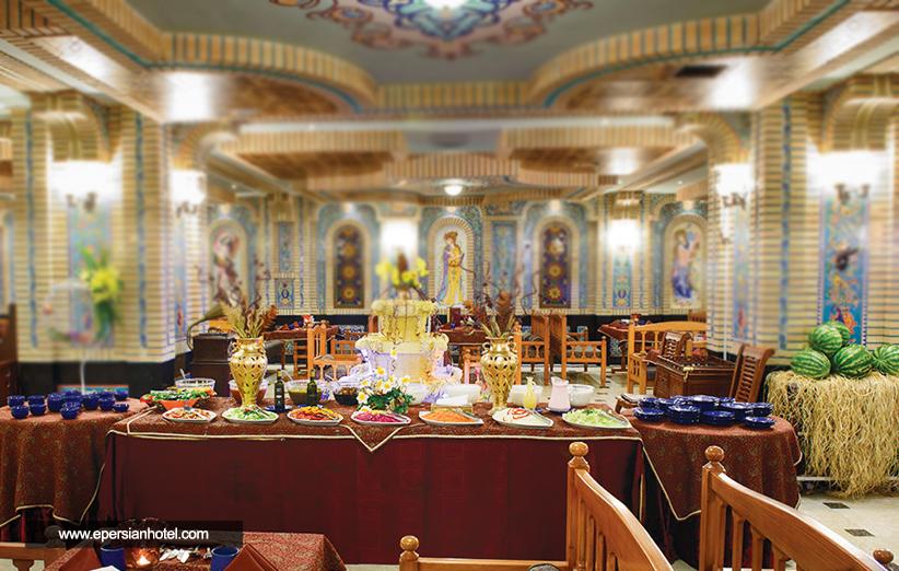 رستوران های هتل قصر طلایی مشهد و بهترین مزه ها
