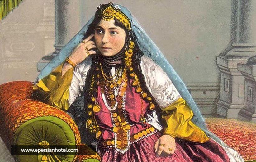پوشش زنان دوره ساسانی