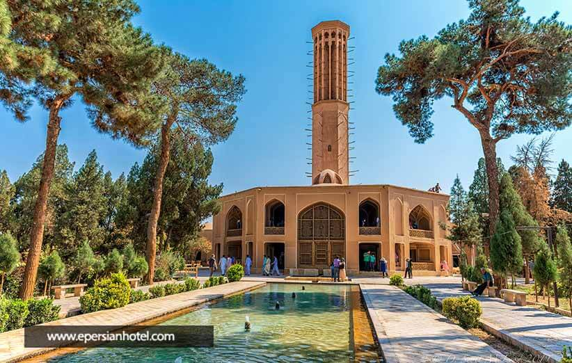 باغات دولت آباد یزد