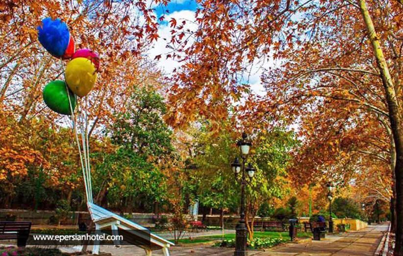 طبیعت زیبای پارک ملت تهران