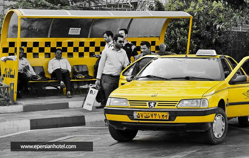تاکسی ها در مشهد کومسیون میگیرند