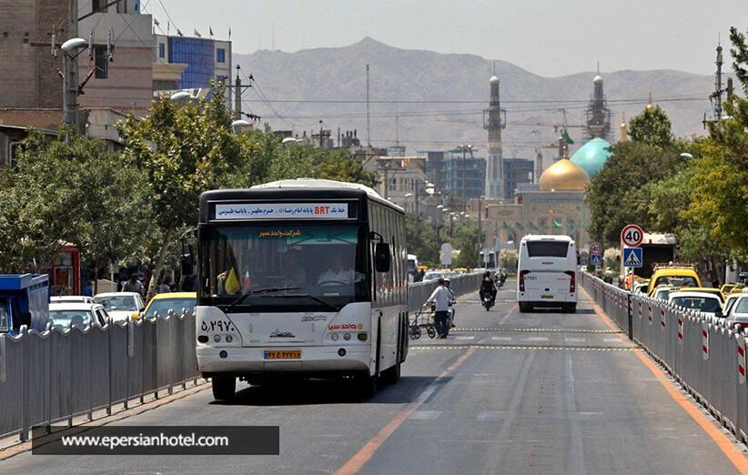 خیابان هتل داران مشهد