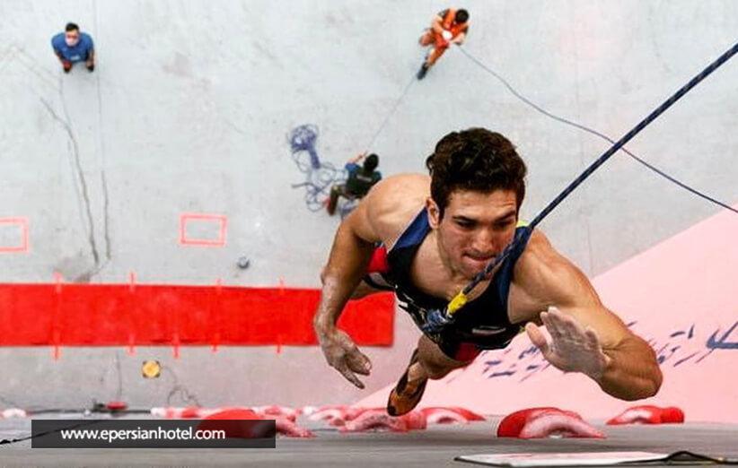 صخره نوردی از ورزش های هیجان انگیز مشهد