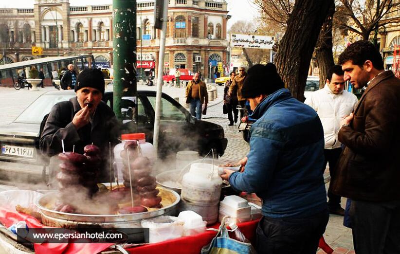 بساط لبوهای داغ تهران