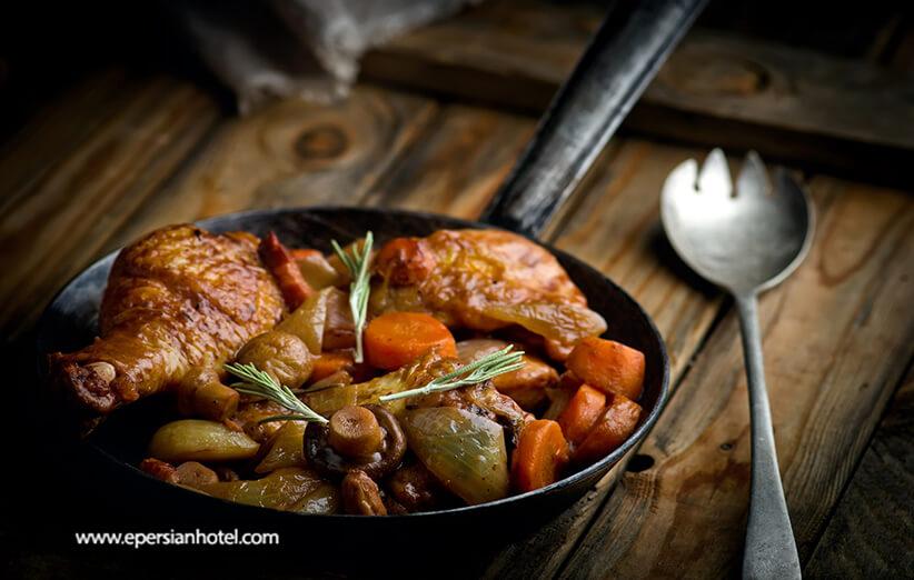 بهترین کیفیت غذاها در رستوران لوشاتو