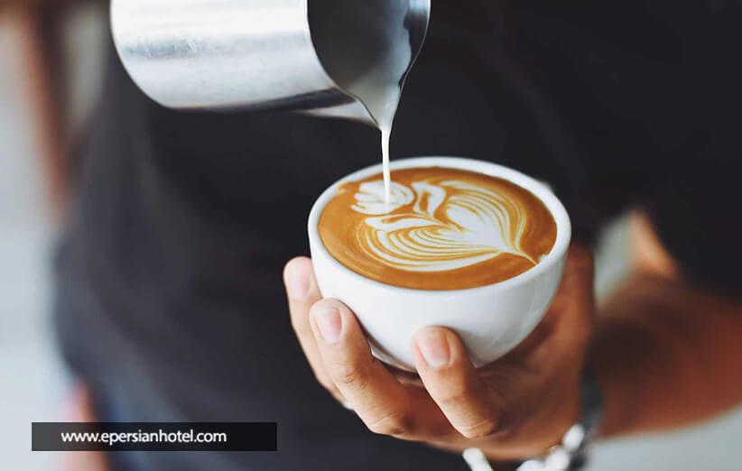 عطر خوب قهوه در کافه چای بار پایتخت