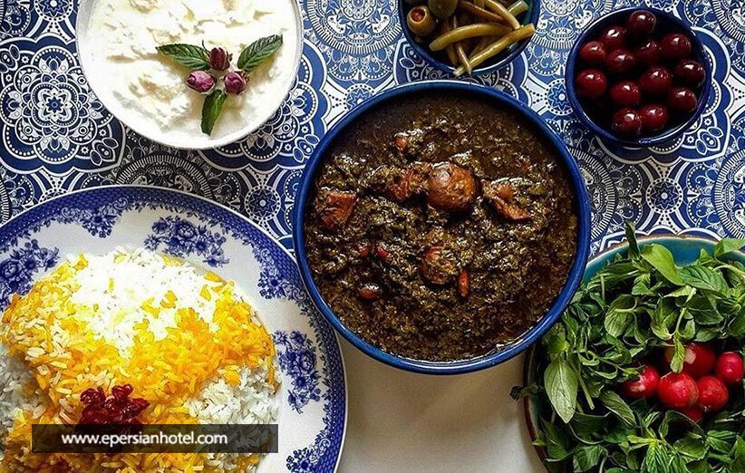 رستورانی با غذاهای وگان در ایران