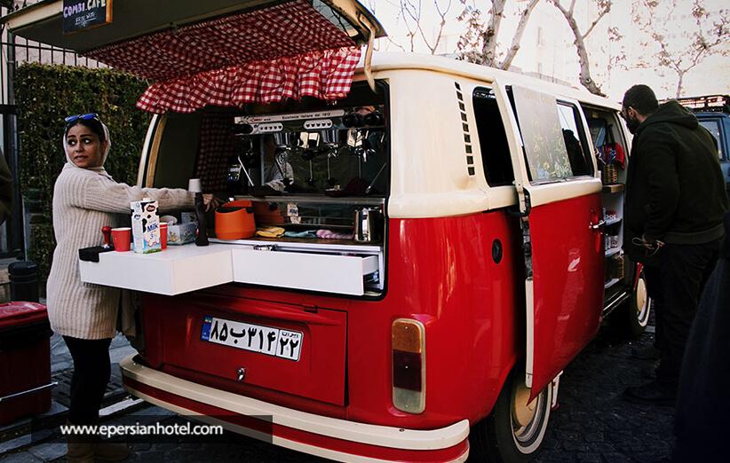 کافه رستوران های جذاب خیابان سی تیر
