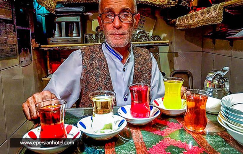 کوچکترین قهوه خانه دنیا در پایتخت ایران