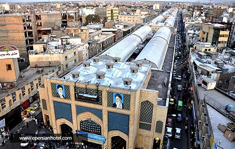 بازار رضا مشهد، اطلاعات کامل درباره بازار رضا