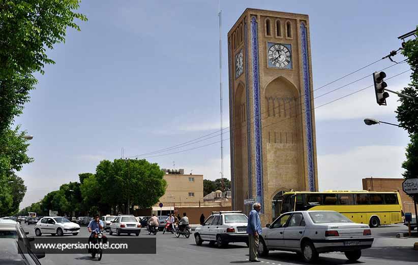 خیابان های یزد