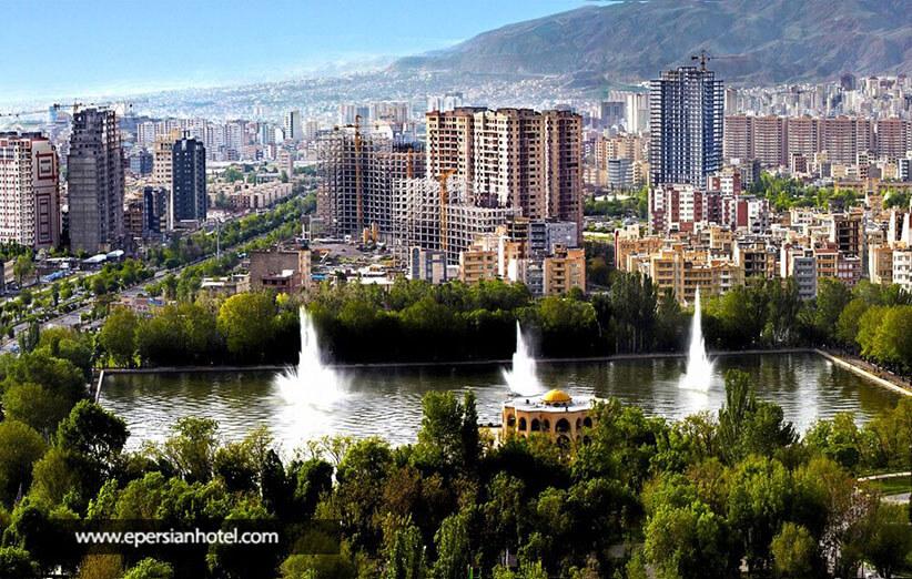 نمای زیبا از شهر تبریز