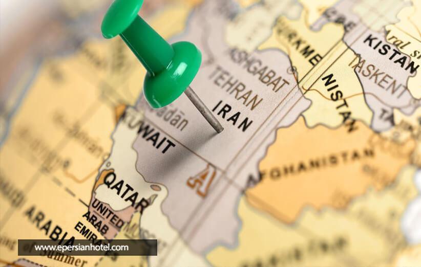 هتل های تهران با موقعیت مکانی خوب