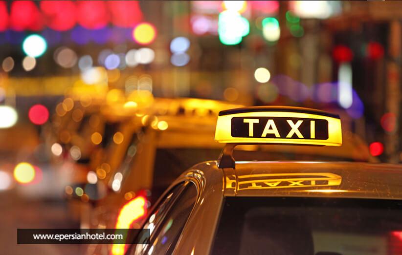 رانندگان تاکسی در هتل های تهران