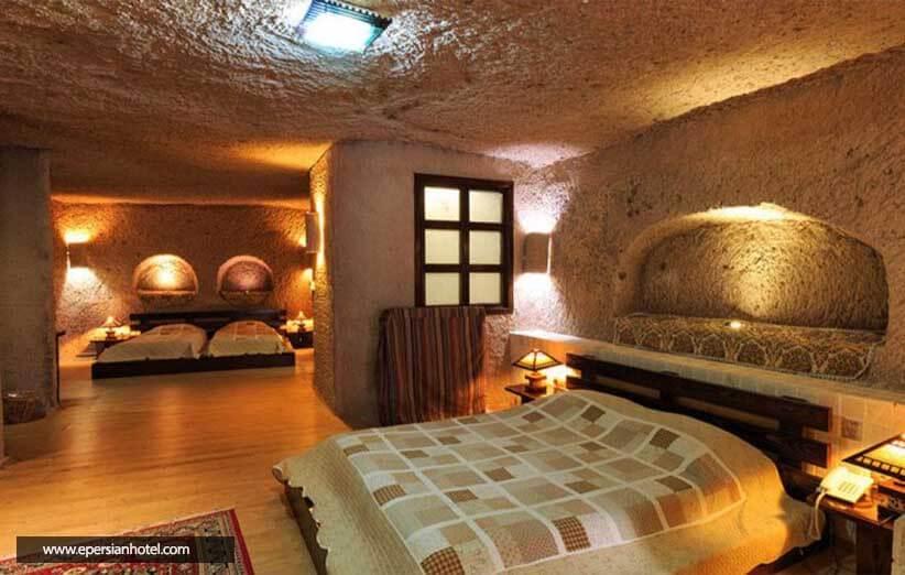 هتل صخره ای لاله کندوان تبریز
