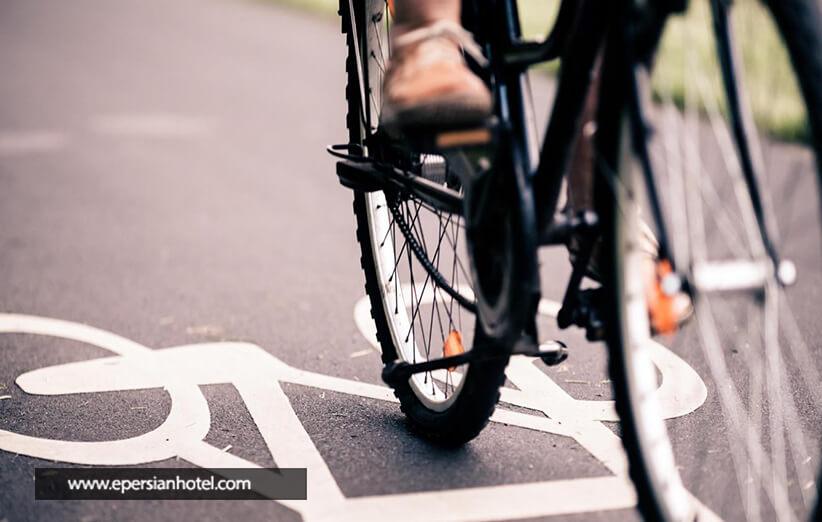 دوچرخه سواری در پارک ائل گلی