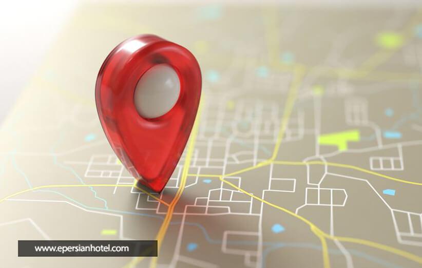 هتل های اصفهان و موقعیت مکانی آنها