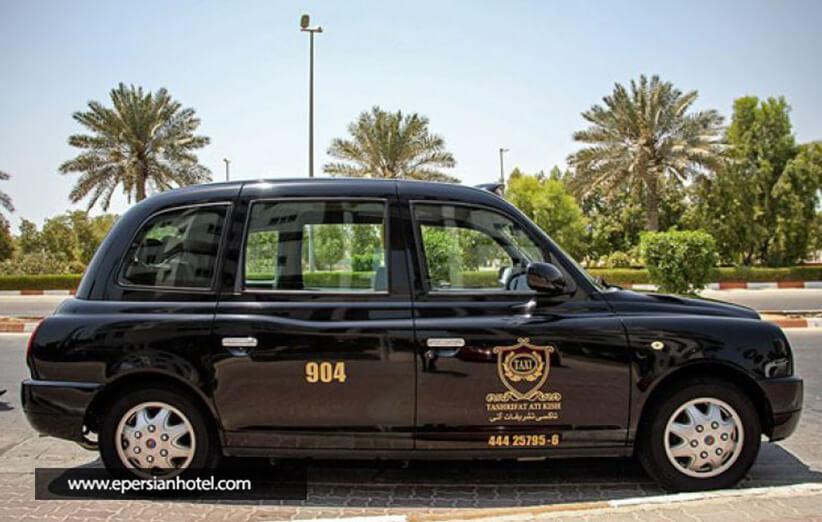 تاکسی ها در کیش