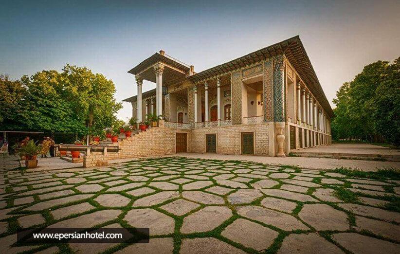 نزدیک ترین هتل به باغ عفیف آباد