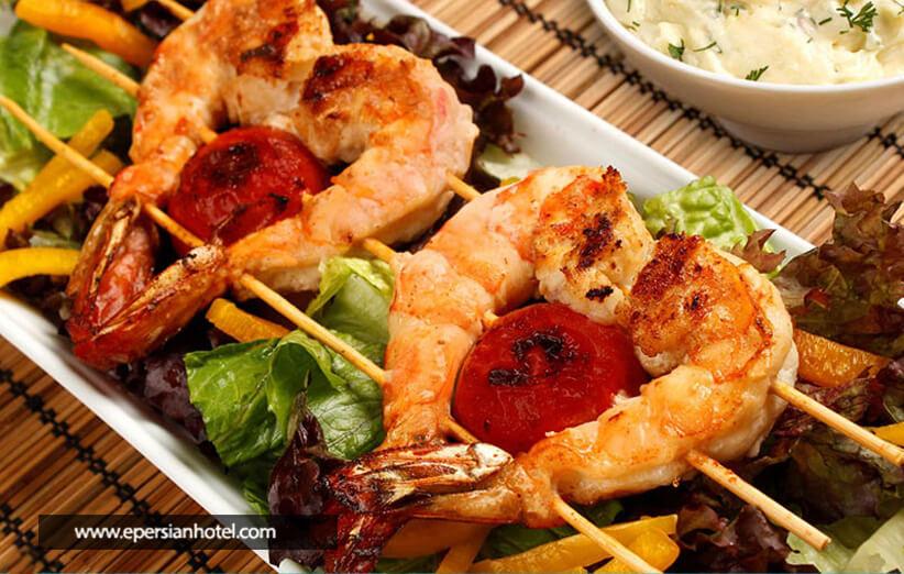 غذاها و رستوران های محبوب کیش