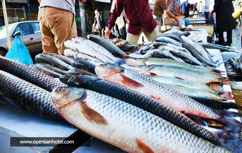 بازار ماهی اصفهان