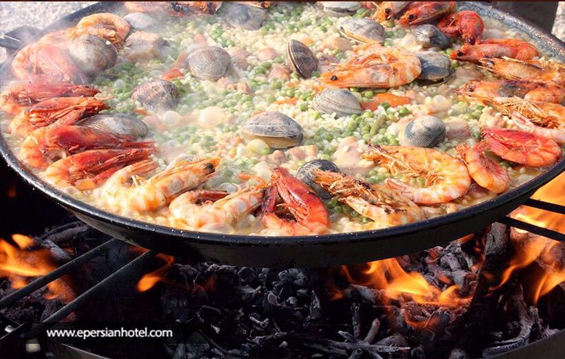 رستوران های ملل در مشهد