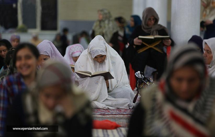 شب قدر در مسجد قبا قشم
