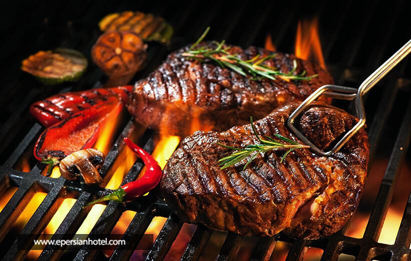 کباب از غذاهای اصلی تبریز