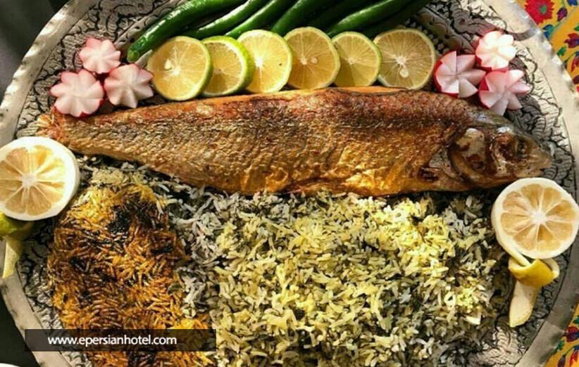 بهترین غذای دریایی در رستوران تالار یزد