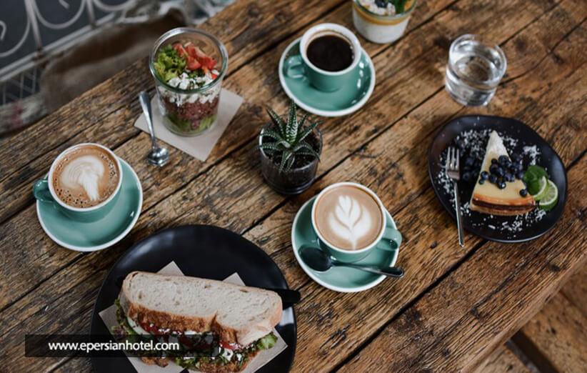 لذت طعم قهوه در فضای باز