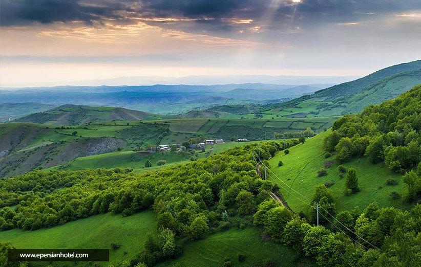 جنگل ارسباران تبریز و زیبایی خیره کننده