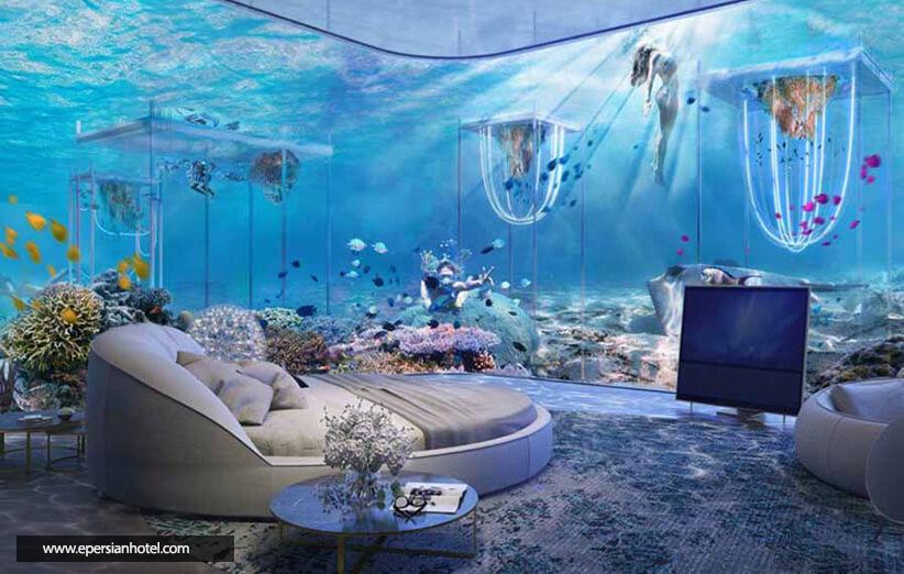 هتل های فوق العاده در زیر آب