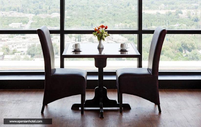 رستوران های هتل چمران شیراز