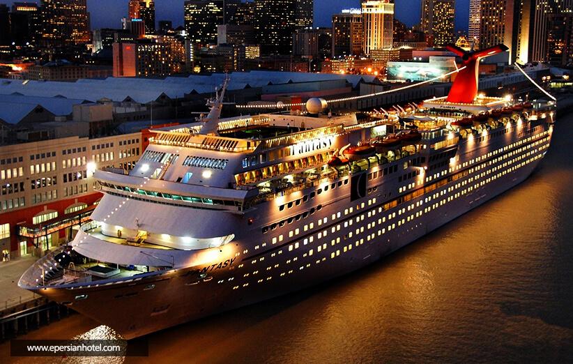 کشتی های کروز تنگه بسفر