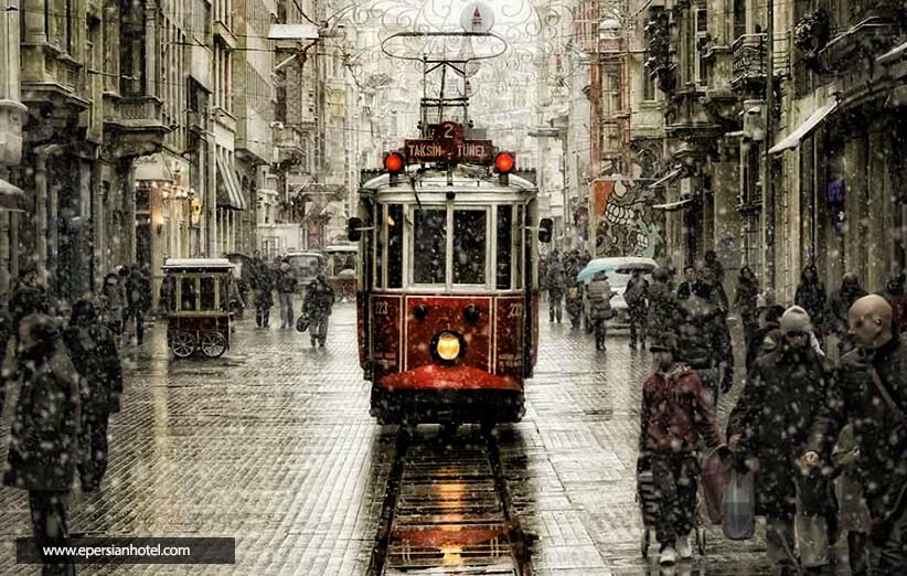 خیابان بی اغلو استانبول