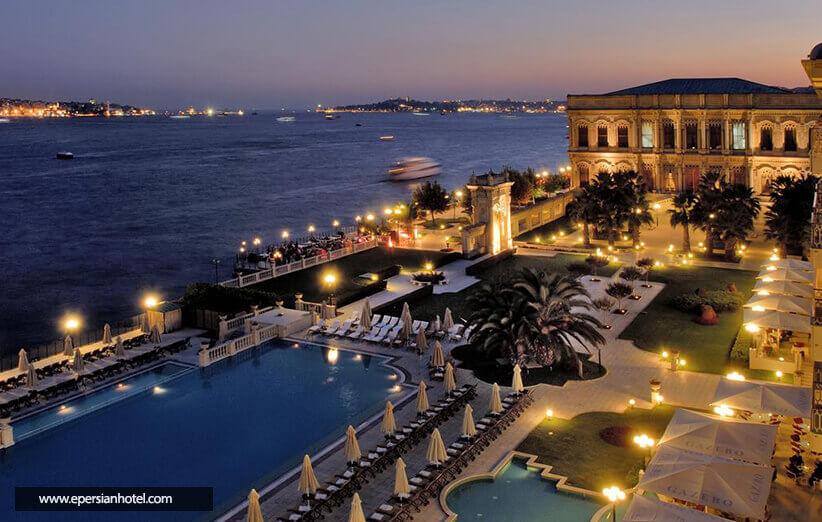 هتل چراغان پالاس کمپینسکی استانبول
