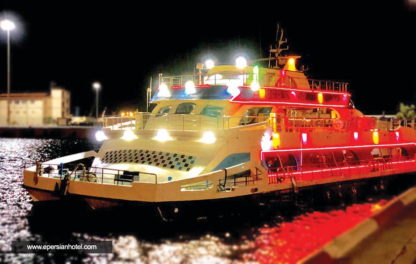کشتی امپراطور کیش، جدید ترین کشتی تفریحی کیش با تخفیف