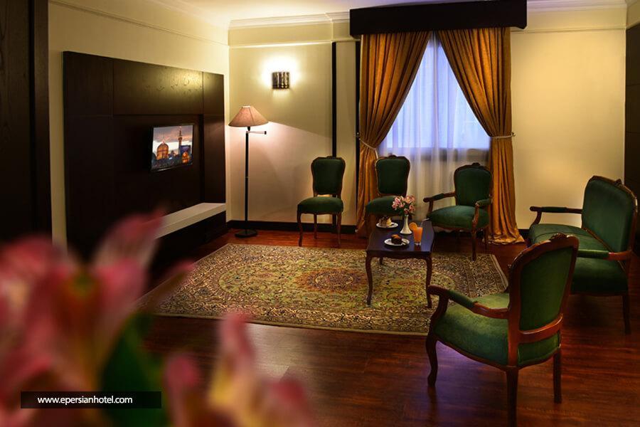 اتاق های هتل ایران مشهد