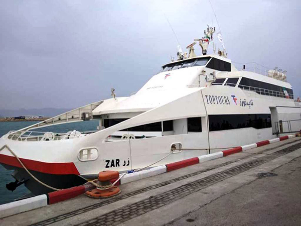 کشتی تاپ تورز کیش
