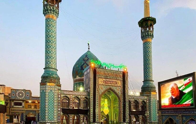 امامزاده صالح، نگین تجریش