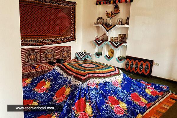 هتل اقامتگاه بومگردی باجیلار اردبیل