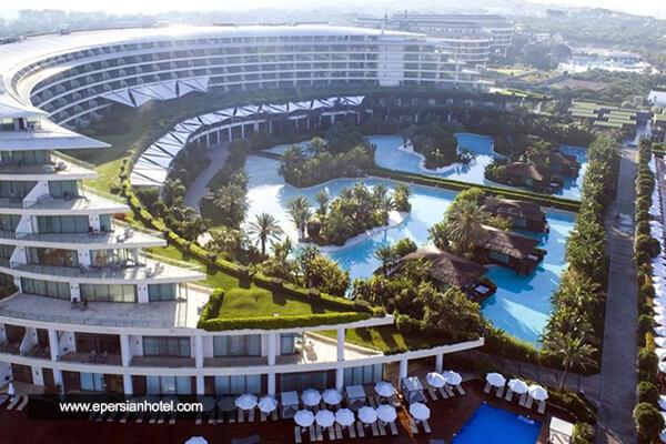 هتل مکس رویال بلک گلف ریزورت آنتالیا