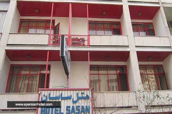 هتل ساسان تهران